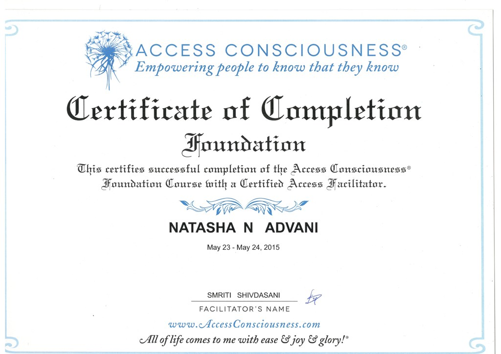Access Foundation Certificate