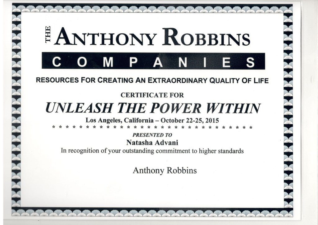Anthony Robbins Training Program