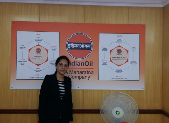 Workshop give at Indian Oil Corporation